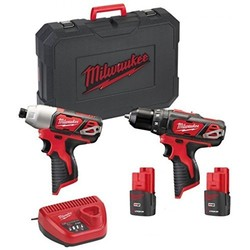 trapano+avvitatore impulsi milwaukee